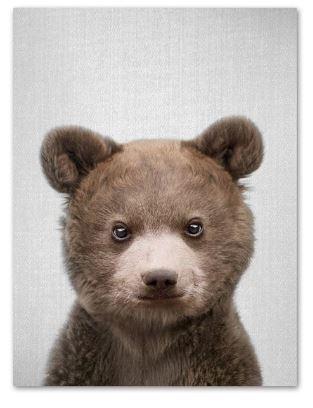 Cute Bear Print 21x30cm A4