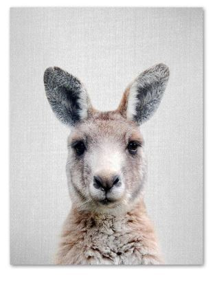 Cute Kangaroo Print 21x30cm A4