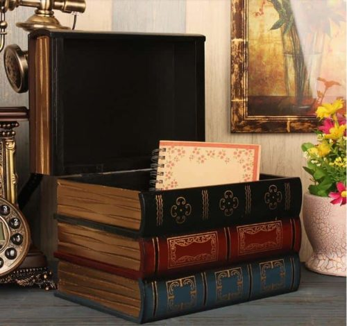 Antique Book Collection with secret compartment inside