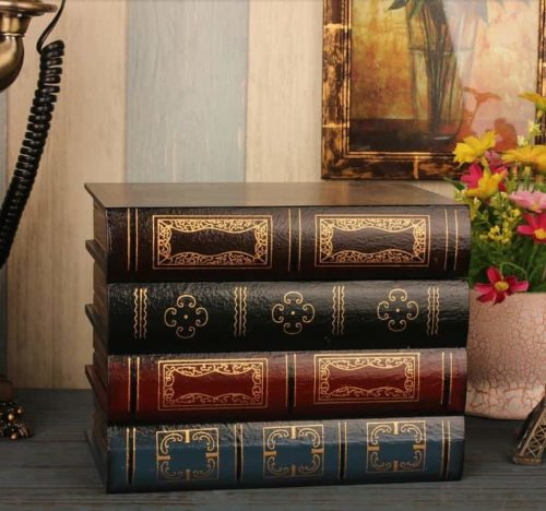 Antique Book Collection with secret compartment