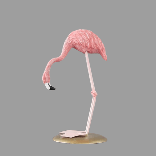 Flamingo Resin Ornament Bending