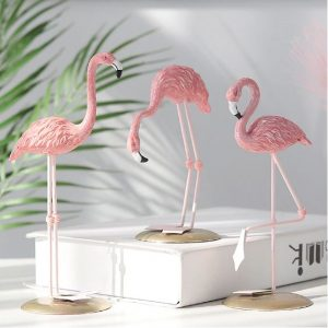 Flamingo Resin Ornaments
