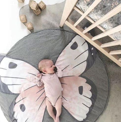 Baby Kids Mat Butterfly 90cm Details