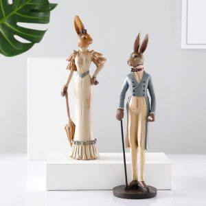 Sophisticated Rabbit Ornaments
