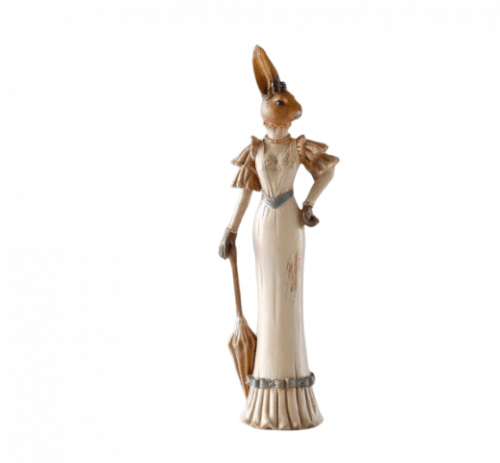 Sophisticated Rabbit Ornaments Female
