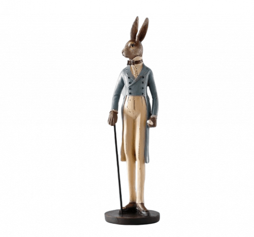 Sophisticated Rabbit Ornaments male