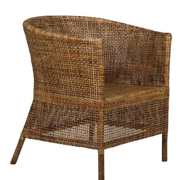 Natural Rattan Plantation Chair
