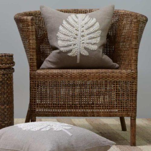 Natural Rattan Plantation Chair