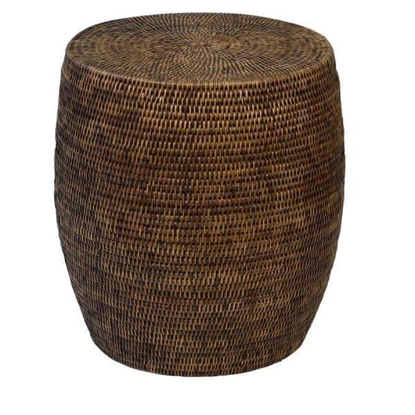 Rattan plantation drum