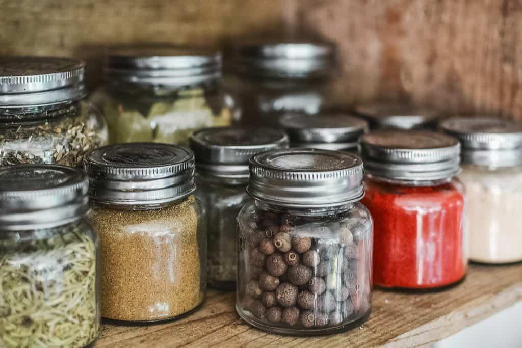 Kitchen Storage Jars Organisation