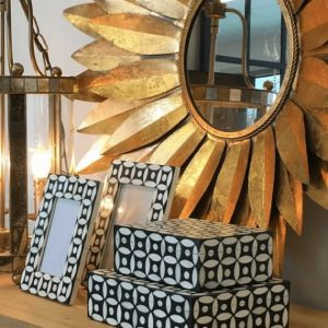 Dahlia Mirror Gold Image2