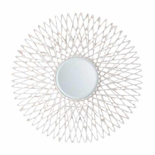 Circular Sunburst Mirror