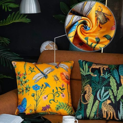 Modern Jungle Cushion Cover