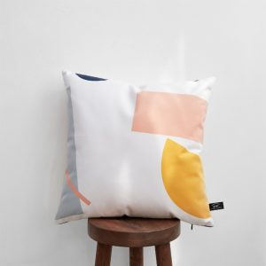 Janie Simple Geometric Cushion Cover