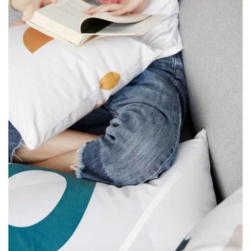Janie Simple Geometric Cushion Cover