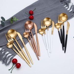 Metallic Cutlery set
