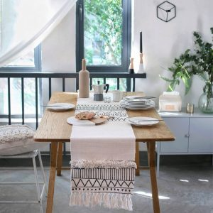 Boho Geometric Table Runner