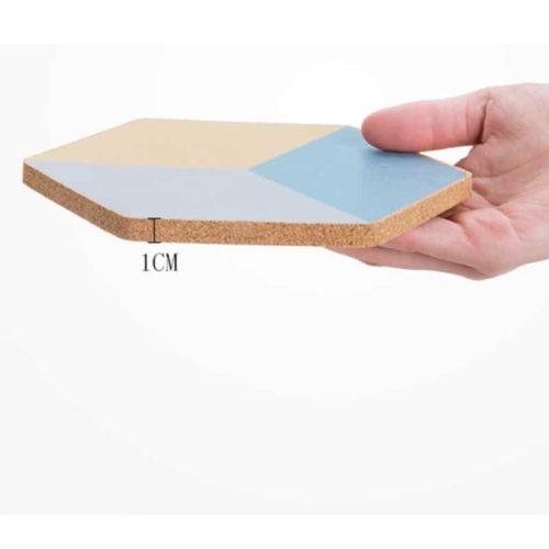 Geometric-Cork-Coaster Thickness