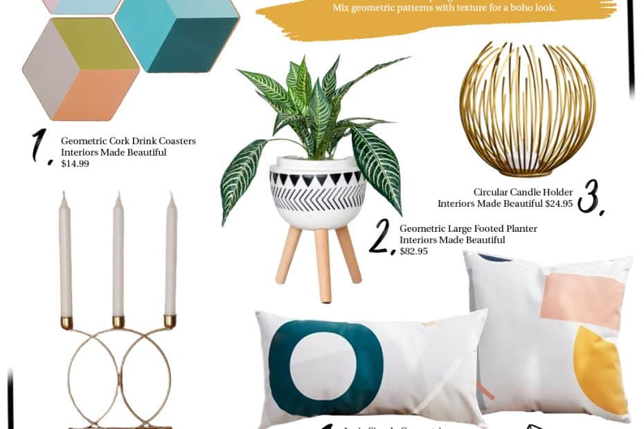 Geometric-Decor-Trend