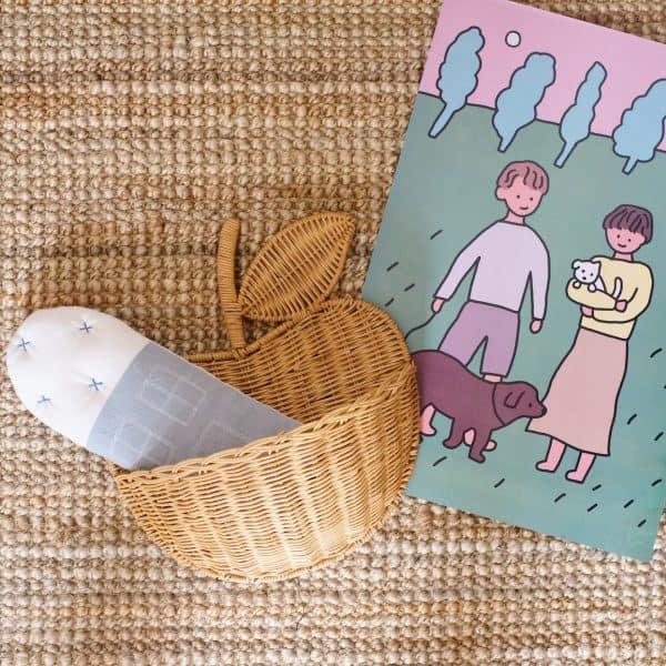 Handmade-Rattan-Storage-Basket floor