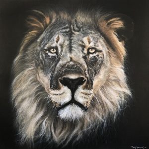 Mary Zammit Lion Print 1