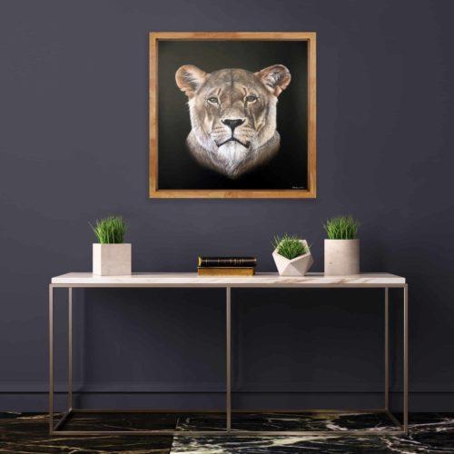 Mary Zammit Lioness Prints