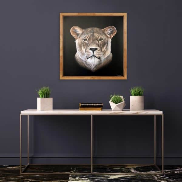 Mary Zammit Lioness Prints