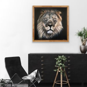 Mary Zammit Lion Print