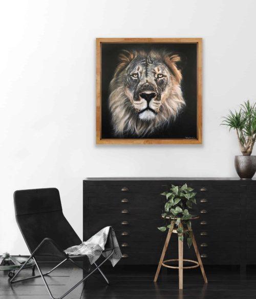 Mary Zammit Lion Print