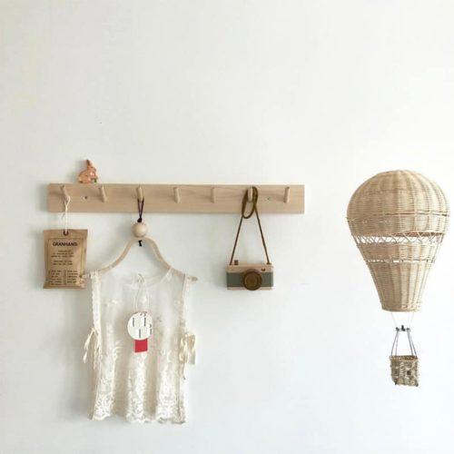 Handmade Rattan Hot Air Balloon 5