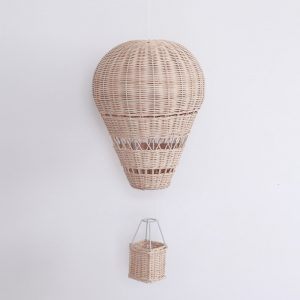 Handmade Rattan Hot Air Balloon