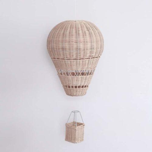 Handmade Rattan Hot Air Balloon