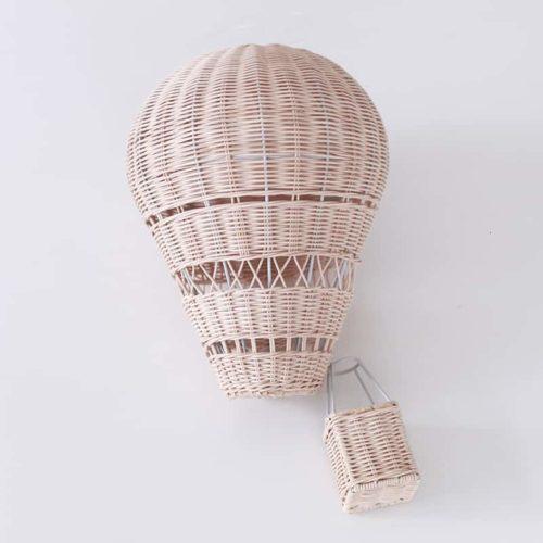 Handmade Rattan Hot Air Balloon 1