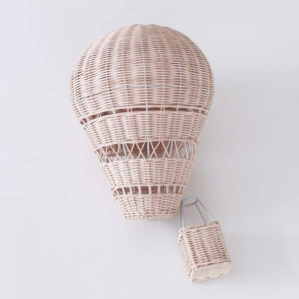 Handmade Rattan Hot Air Balloon 1