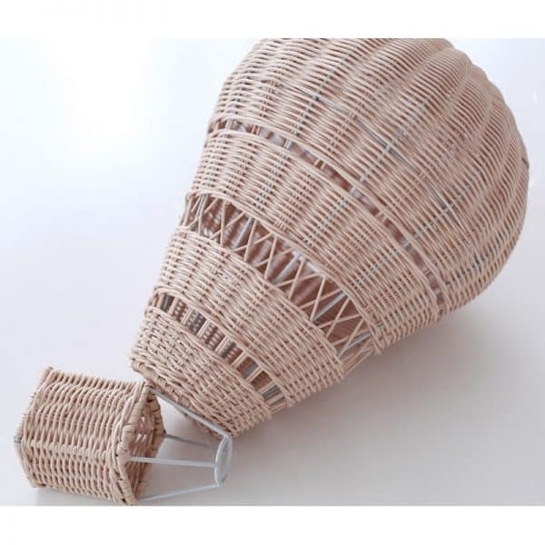 Handmade Rattan Hot Air Balloon 2