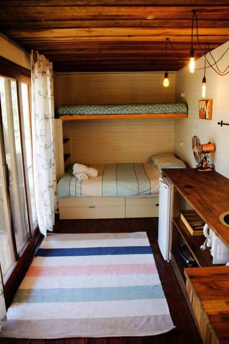 Bungwahl Tiny Container Home Bedroom