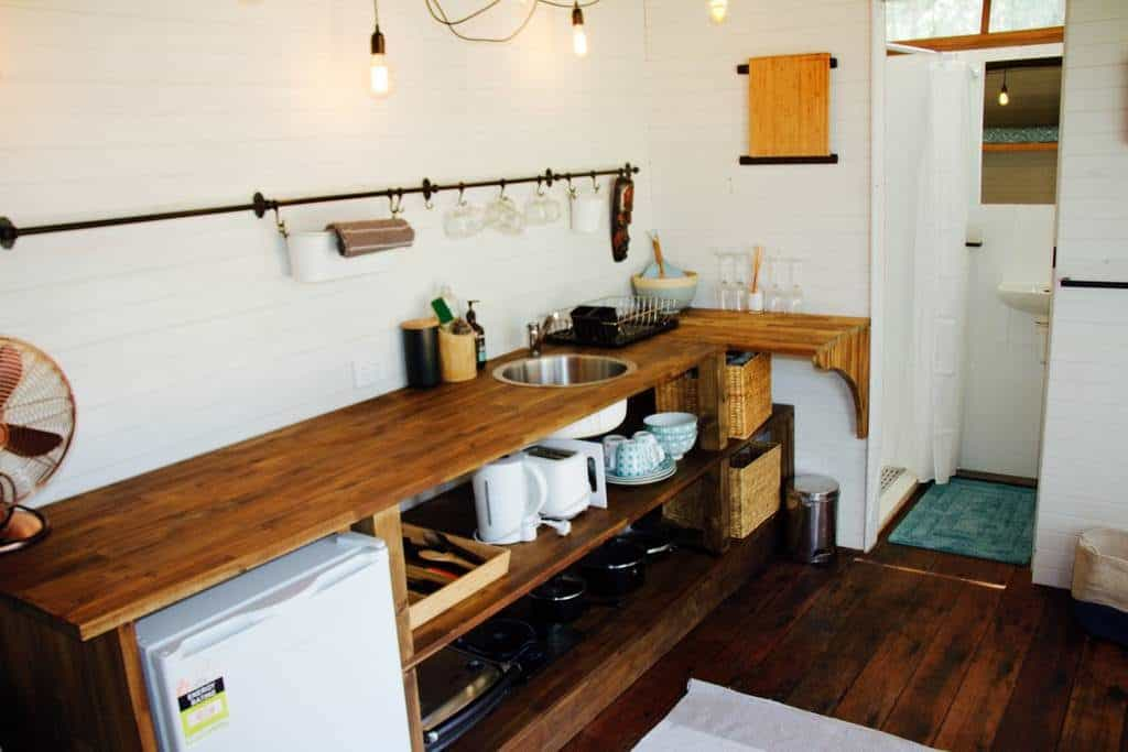 Bungwahl Tiny Container Home Kitchen