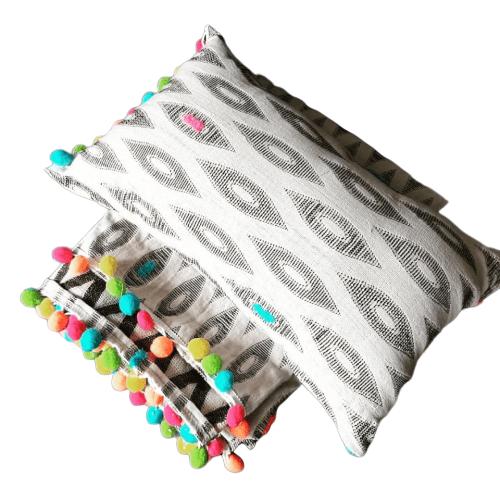 Plumbago Colourful Throw Cushions