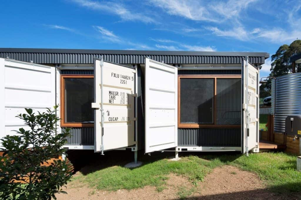 South Coast Container Home - Doors