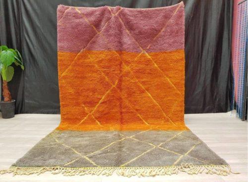 Adilah Purple Orange Rug