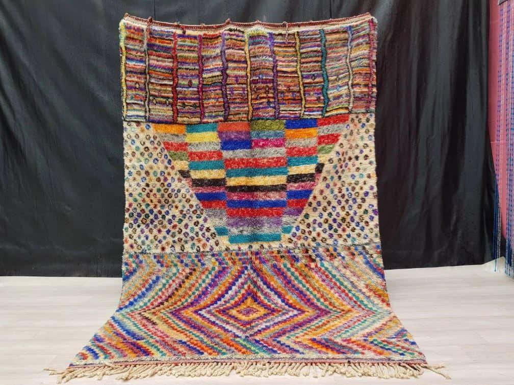 Amina Colourful Rug Handmade In Morocco