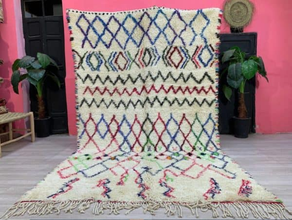 Amira Geometric Rug front view
