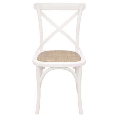 Bentwood Chairs White front view