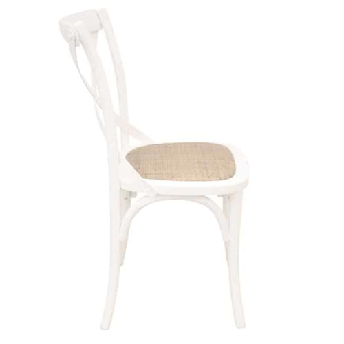 Bentwood Chairs White side view