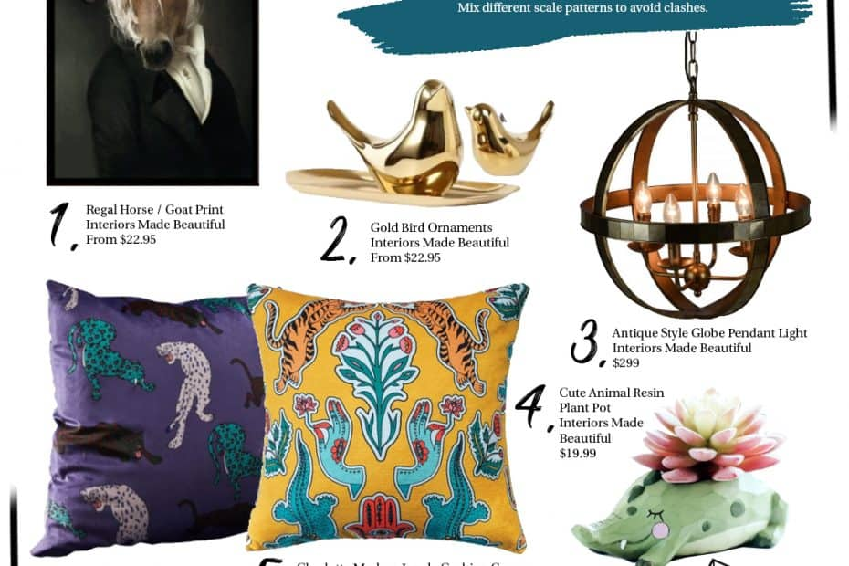 Eclectic home decor favourites