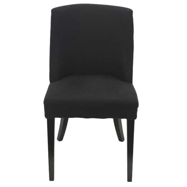 Georgia Chair Black with ring front view