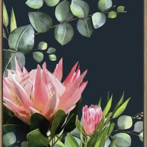 Inkheart Bush flower artwork