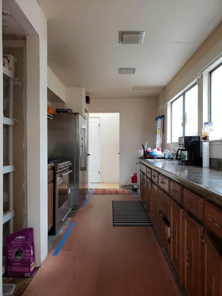 Before kitchen renovation Kismet House