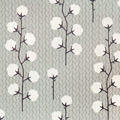 Sweet Cotton Grey wallpaper detail