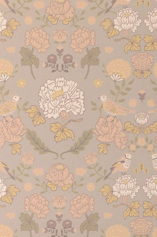 Mindful Grey Majvillan wallpaper close up